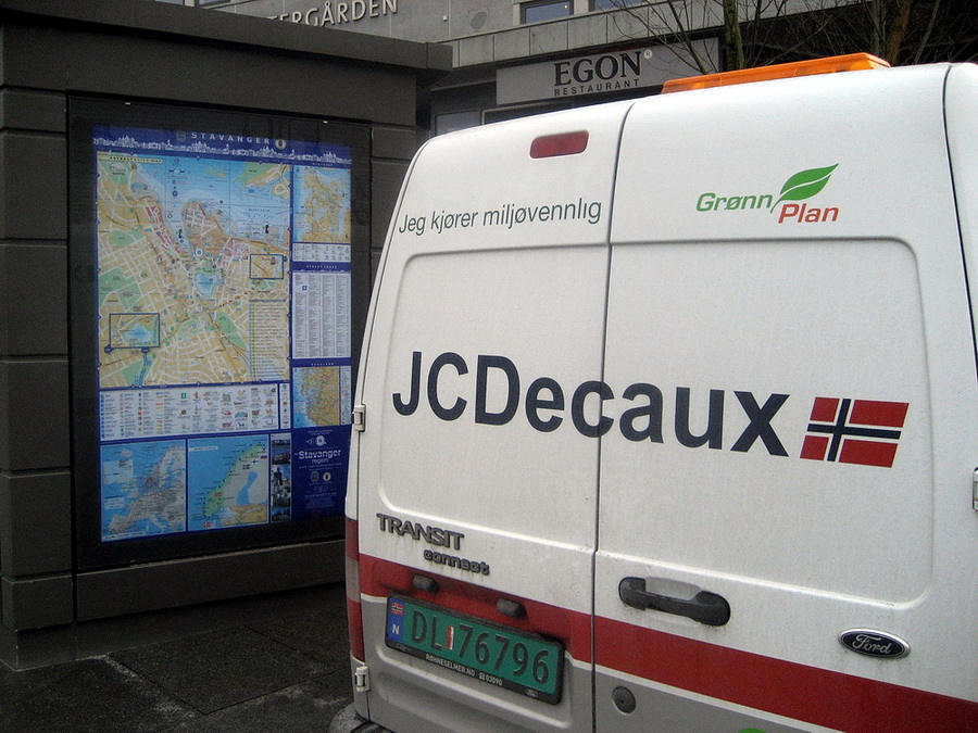 JCDecaux maintenance
